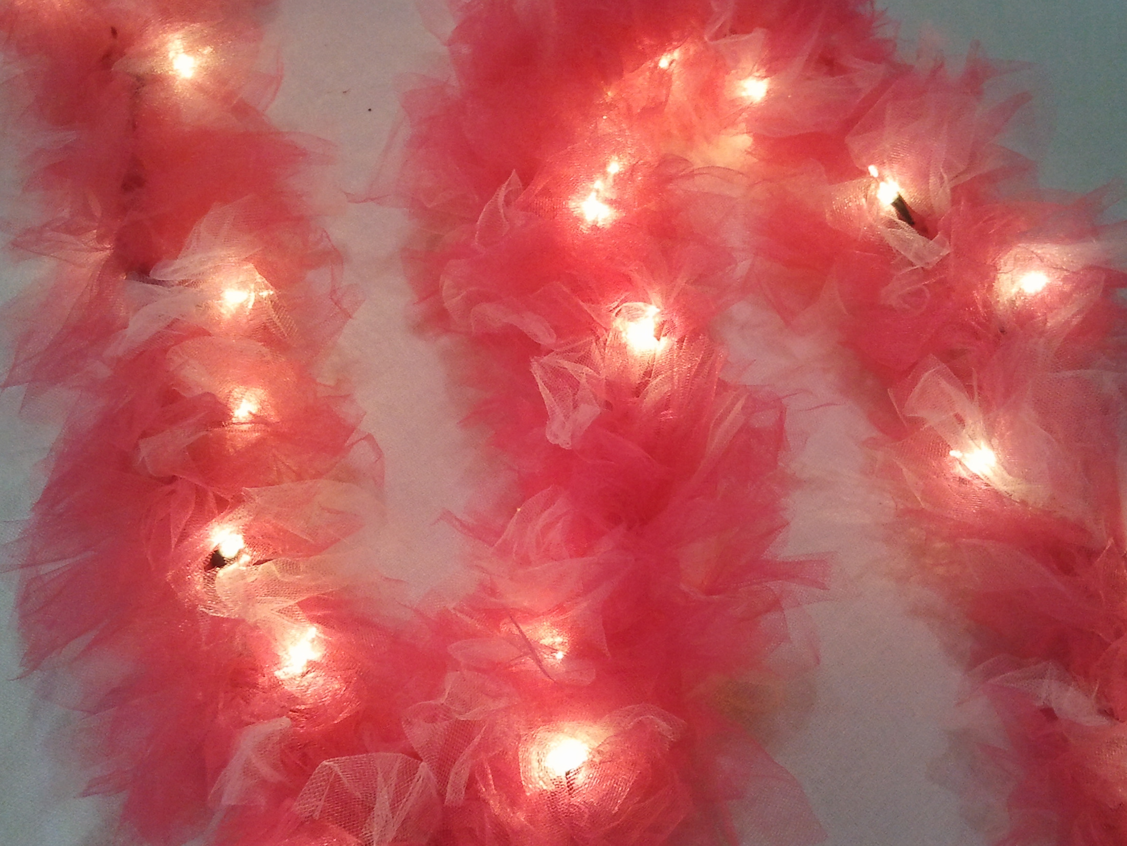 Tulle Christmas Lights
