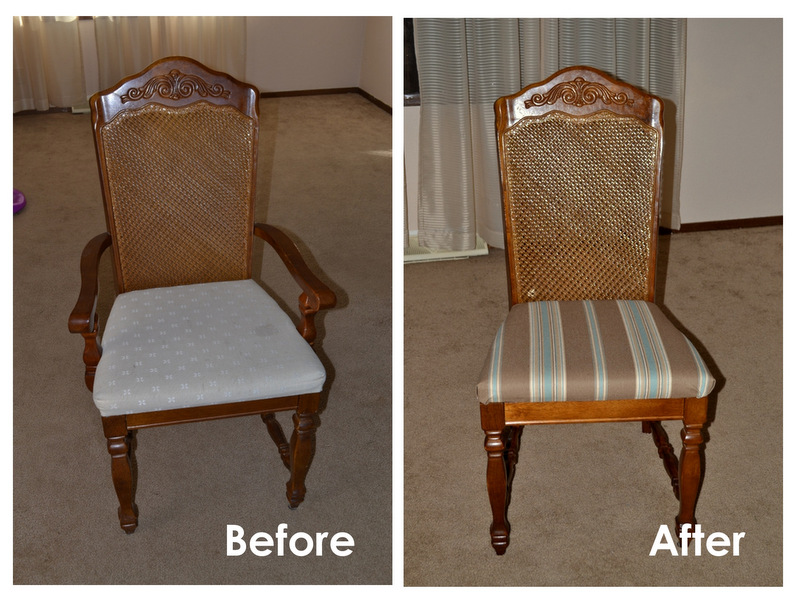 Dining Chair Recover Tutorial